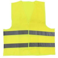 Vesta semnalizare cu banda reflectorizanta, Neon 9195, galben, marimea  XXXL