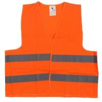 Vesta semnalizare cu banda reflectorizanta, Reflex 9194, portocaliu, marimea  XL