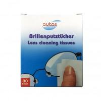 Servetele umede pentru curatare ochelari Autas, 1 strat, 30 buc / pachet
