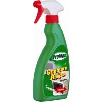 Solutie lichida pentru aragaz si cuptor Promax, aroma lamaie, 500 ml
