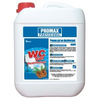 Gel dezinfectant WC Promax, parfum fresh, 5 l