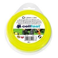 Fir motocoasa Cell Fast, profil rotund, PVC, 1.6 mm x 15 m