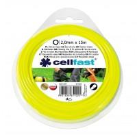 Fir motocoasa Cell Fast, profil rotund, PVC, 2 mm x 15 m