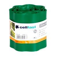 Separator gazon Cell Fast, plastic, verde inchis, 15 cm x 9 m