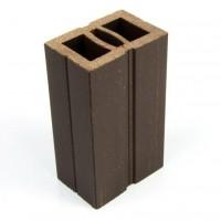 Sina WPC pentru dusumea din lemn compozit, wenge, 6 x 4 x 300 cm