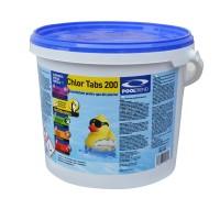 Clor maxi tablete, pentru apa piscina, 5 kg