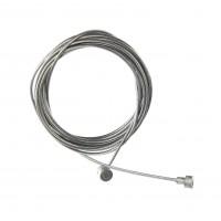 Cablu de frana pentru bicicleta, universal, otel, 200 cm x 1 mm