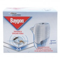 Aparat electric Baygon protector lichid 21 ml