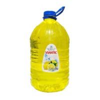 Detergent lichid pentru vase Viantic, aroma lamaie, 5 l