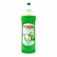 Detergent lichid pentru vase Economist, aroma mar verde, 500 ml