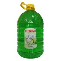 Detergent lichid pentru vase Economist, aroma mar verde, 5 l