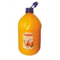 Detergent lichid pentru vase Economist Pearl, aroma piersica, 5 l