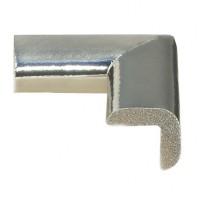 Coltar protector din spuma de cauciuc AC-105, subtire, argintiu metalizat, grosime 6 mm