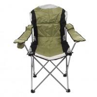 Scaun camping pliant D10607 structura metalica verde 62 x 62 x 44/105 cm