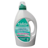 Detergent de rufe, lichid, Malizia Muschio Bianco, 1.82L