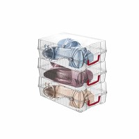 Cutie depozitare pantofi dama 88000, plastic, 17 x 10 x 30 cm