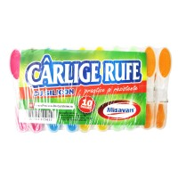 Carlige rufe silicon 10/ set