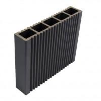 Uluca celulara gard WPC 120 x 24 x 4000 mm G