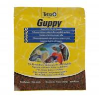 Hrana pesti Tetra Guppy, pentru pesti Guppy, mini-fulgi, 12 g