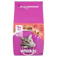 Hrana uscata pentru pisici, Whiskas, adult, carne de vita, 1.4kg