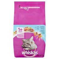 Hrana uscata pentru pisici, Whiskas, adult, cu ton, 1.4kg