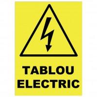 Indicator tablou electric Sun Prints, autocolant, 21 x 15 cm