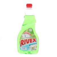 Rezerva solutie geamuri Rivex, Spring Fresh, 750 ml