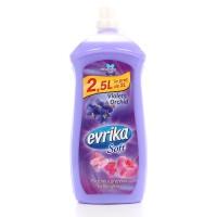 Balsam de rufe Evrika Soft, parfum floral, violete si orhidee, 2.5 L