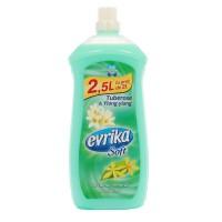 Balsam de rufe Evrika Soft, parfum floral, tuberoze si ylang-ylang, 2.5 L