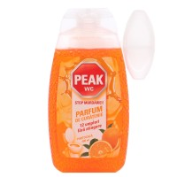Odorizant wc baie Peak, gel, portocala, 400 ml