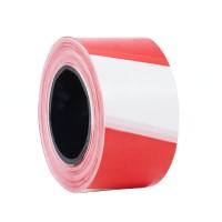 Banda delimitare, dungi rosu / alb, latime 70 mm, 200 m