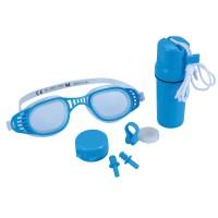 Ochelari inot copii Bestway 26002 + clipsuri pentru nas + dopuri urechi + cutie