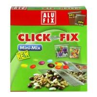 Pungi cu sistem de inchidere Click-fix, 9 x 12 cm 20 buc + 13 x 13 cm 20 buc