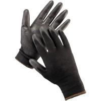 Manusi de protectie DCT negre, din poliester, marimea 10