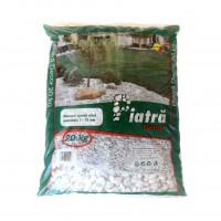Marmura decorativa naturala sparta, interior / exterior, alba, 7-15 mm, 20 kg