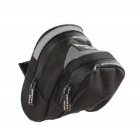 Gentuta pentru sa bicicleta Profex 65050, cu benzi reflectorizante, 0.7 L, 135 x 150 x 90 mm