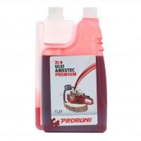 Ulei amestec Prorun 2T, rosu, cu doza mix, 1 L
