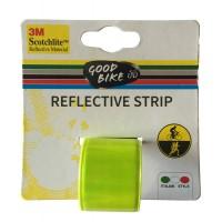 Banda reflectorizanta pentru bicicleta Good Bike,3 x 39 cm