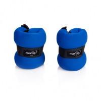 Greutati incheieturi pentru fitness Maxtar, set 2 buc x 0.5 kg