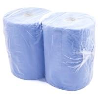 Prosop industrial 3 straturi blue celuloza 500 foi 2/set