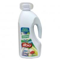 Detergent de rufe, lichid, Albio White, 3L
