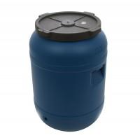 Bidon Dolplast, albastru, plastic, cu capac,  80L
