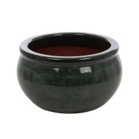 Ghiveci ceramic 21237 V, rotund, 33 x 18 cm