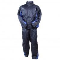 Costum de protectie Kastor, vatuit, albastru, XL
