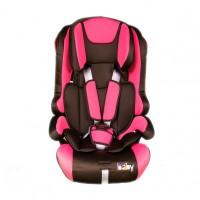 Scaun auto pentru copii Kota Baby,  roz / negru, 9-36 kg