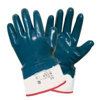 Manusi de protectie DCT Nintex, din tricot si cauciuc nitrilic, marimea 10