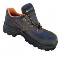 Pantofi de protectie DCT DS 02, cu bombeu metalic, piele, negru, S1, marimea 44