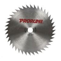 Disc motocoasa pentru tuns iarba, Prorun, otel, 40 dinti, 255 x 1.6 mm