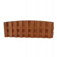 Gardulet de lemn, Rustic, pentru gradina, solid, 50 x 140 cm