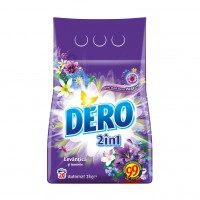 Detergent rufe, automat, Dero 2 in 1 levantica si iasomie, 2 kg
